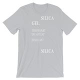 SILICA UNISEX T-SHIRT-Silver-S-Dustrial