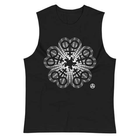 BUER ROSE MUSCLE TANK-S-Dustrial