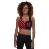 09011E BURN PADDED SPORTS BRA