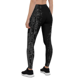 DEFRAG R0 GREY LEGGINGS