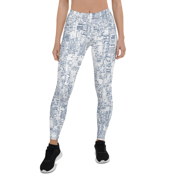 SCHEMATICA LEGGINGS-XS-Dustrial