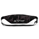 CAMO BLACK FANNY PACK-Dustrial