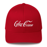 CYBERCRIME ZERODAY FLEXFIT CAP-Red-S/M-Dustrial