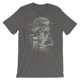 TEARS GLITCH UNISEX T-SHIRT-Asphalt-S-Dustrial