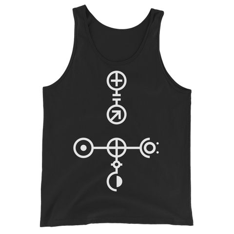 INTERNAL.SYS CRUX UNISEX TANK TOP-Black-XS-Dustrial