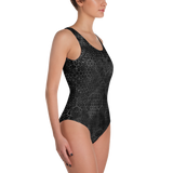 HEX PHASE BLVCK ONE-PIECE SWIMSUIT