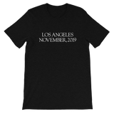 LA 2019 UNISEX T-SHIRT-Black Heather-S-Dustrial
