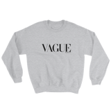 VAGUE CREWNECK SWEATSHIRT-Sport Grey-S-Dustrial