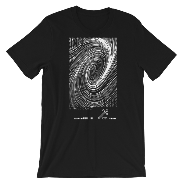 NONE BELOW [CATACLYSM] UNISEX T-SHIRT-Black-XS-Dustrial