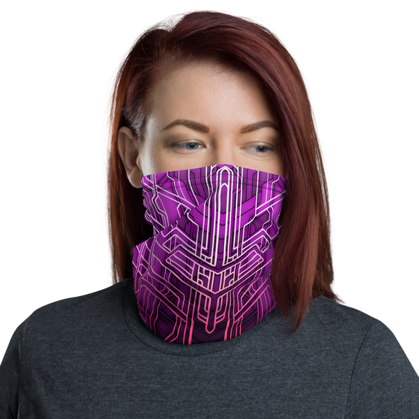 MECH XIII NECK GAITER MASK-Dustrial