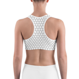 HEXAGON WIGHT SPORTS BRA-Dustrial