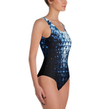 RUBICON BLUE ONE-PIECE SWIMSUIT-Dustrial