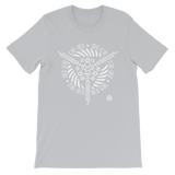 CYCLES UNISEX T-SHIRT-Silver-S-Dustrial