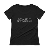 LA 2019 WOMEN'S SCOOPNECK T-SHIRT