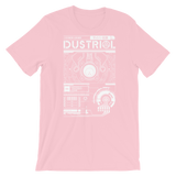 INTERFACE ETHERNET XERO UNISEX T-SHIRT-Pink-S-Dustrial