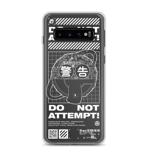 DO NOT ATTEMPT SAMSUNG CASE-Samsung Galaxy S10-Dustrial