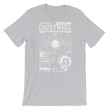 INTERFACE ETHERNET XERO UNISEX T-SHIRT-Silver-S-Dustrial