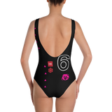 VHS SORRY ONE-PIECE SWIMSUIT-Dustrial