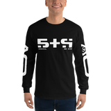 STR LONG SLEEVE T-SHIRT-Black-S-Dustrial