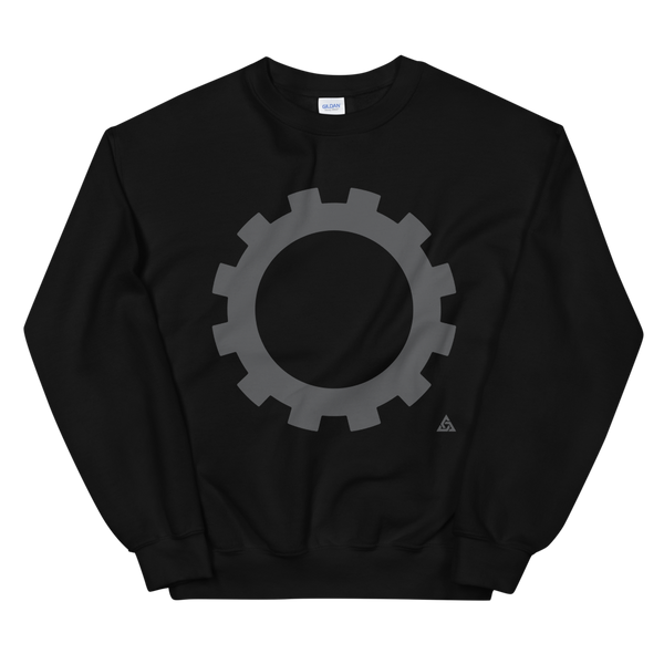 GEAR CREWNECK SWEATSHIRT-S-Dustrial