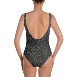 BRUTALIST ONE-PIECE SWIMSUIT