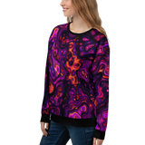 PURPLE HAZE UNISEX SWEATSHIRT