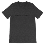 REPLICVNT UNISEX T-SHIRT-Dark Grey Heather-XS-Dustrial