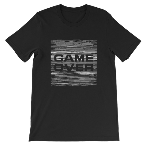 GAME OVER MONO UNISEX T-SHIRT