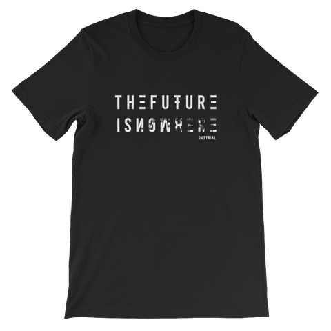 THE FUTURE UNISEX T-SHIRT-Black-S-Dustrial