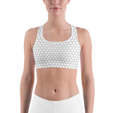 HEXAGON WIGHT SPORTS BRA-XS-Dustrial
