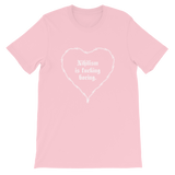 NIHIL UNISEX T-SHIRT-Pink-S-Dustrial
