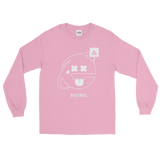 2SAD2WEIRD LONG SLEEVE T-SHIRT-Light Pink-S-Dustrial