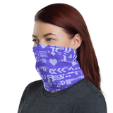 ASCII BLUE64 NECK GAITER MASK-Dustrial