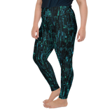 SILICON BLUE PS LEGGINGS-Dustrial