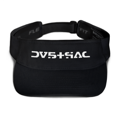09011E STR VISOR-Black-Dustrial