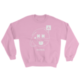 2SAD2WEIRD CREWNECK SWEATSHIRT-Light Pink-S-Dustrial