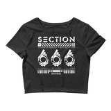 SECTION666 CROP TEE-XS/SM-Dustrial