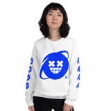 SCREEN IMAGE SIMULATED CREWNECK SWEATSHIRT-Dustrial