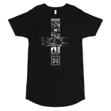 TEARS GLITCH LONG BODY T-SHIRT