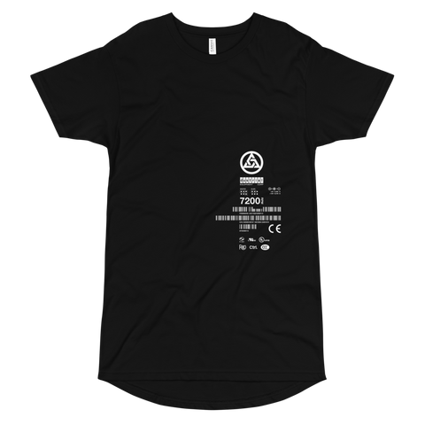 DEFRAG READ ERROR LONG BODY T-SHIRT-S-Dustrial
