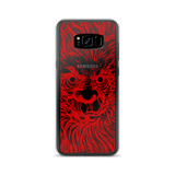 BUER RED SAMSUNG CASE-Samsung Galaxy S8 Plus-Dustrial