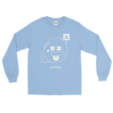 2SAD2WEIRD LONG SLEEVE T-SHIRT-Light Blue-S-Dustrial