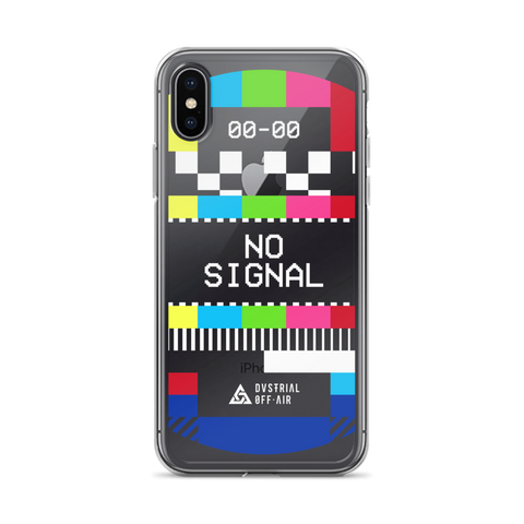 NO SIGNAL IPHONE CASE-Dustrial-future-fashion-scifistreet-IPHONE CASE-iPhone X-