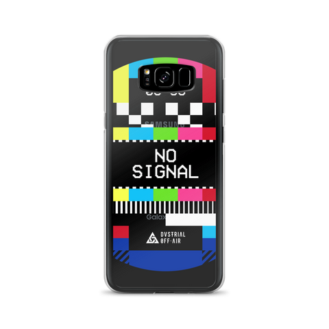 NO SIGNAL SAMSUNG CASE-Samsung Galaxy S8 Plus-Dustrial