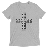PHALANX CRUX TRI-BLEND T-SHIRT-Dustrial-future-fashion-scifistreet-TRIBLEND BC-Athletic Grey Triblend-XS-