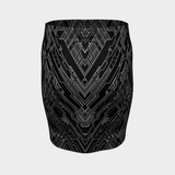 MECH I MONO V2 PENCIL SKIRT
