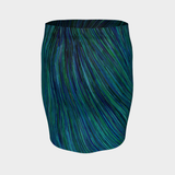 BLUE CURRENT PENCILS SKIRT-Dustrial