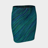 BLUE CURRENT PENCILS SKIRT-XS-Dustrial