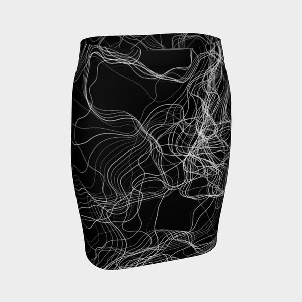 STRING THEORY MONO PENCIL SKIRT-XS-Dustrial