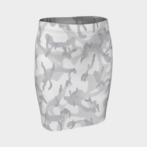 CAMO WIGHT PENCIL SKIRT-Dustrial